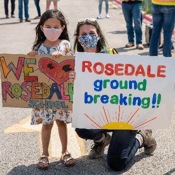 AISD ROSEDALE SCHOOL GROUNDBREAKING