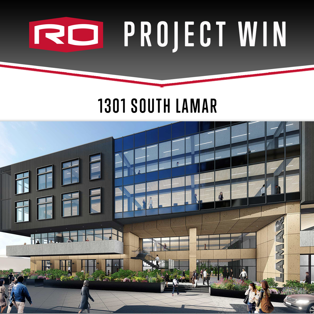 PROJECT WIN: 1301 SOUTH LAMAR