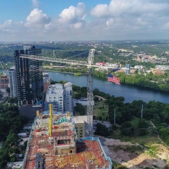 Photo by Rogers-O'Brien Construction in Austin, Texas. Image may contain: sky, cloud, outdoor, water and nature