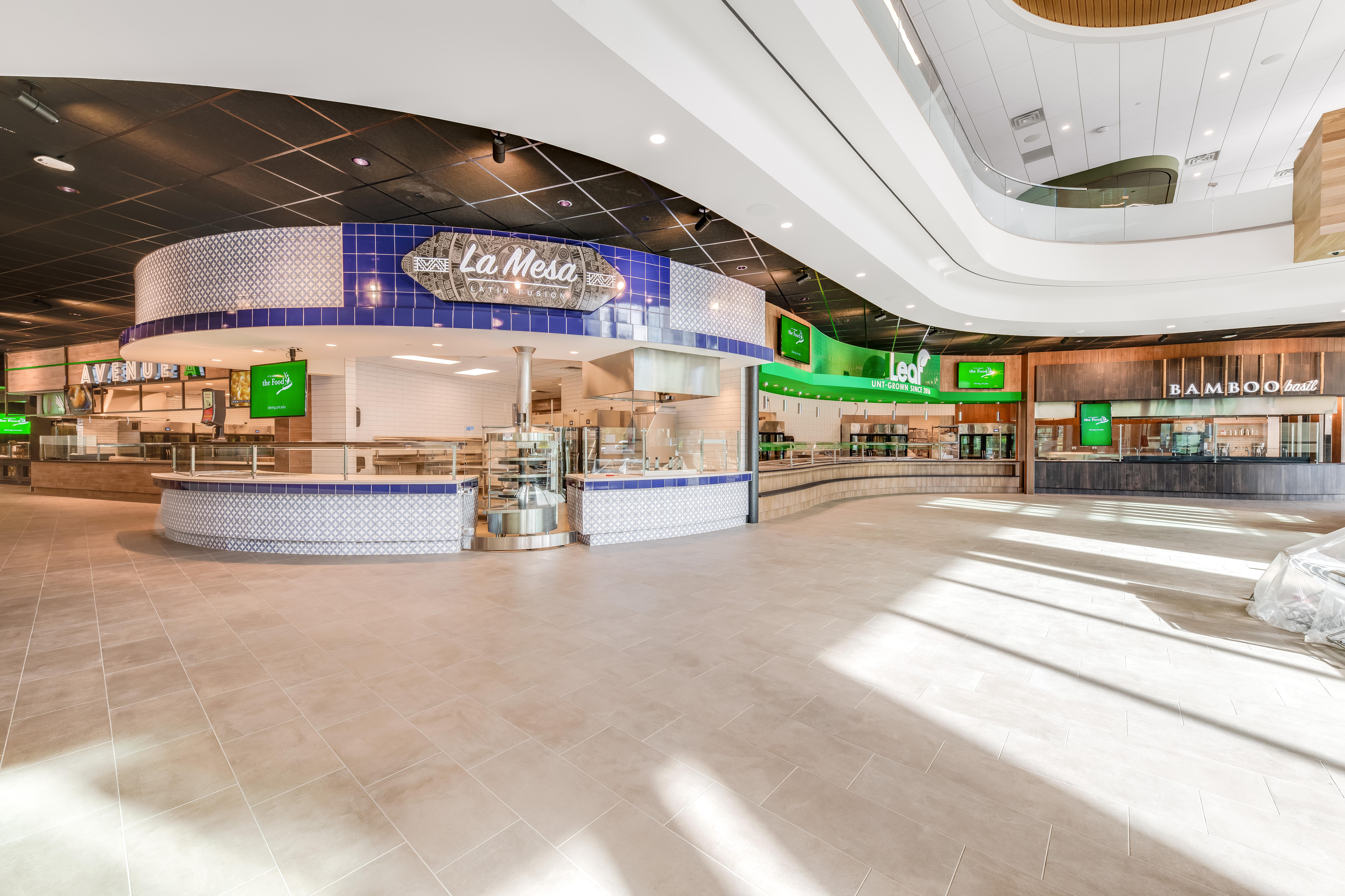 UNT Eagle Landing Dining Hall
